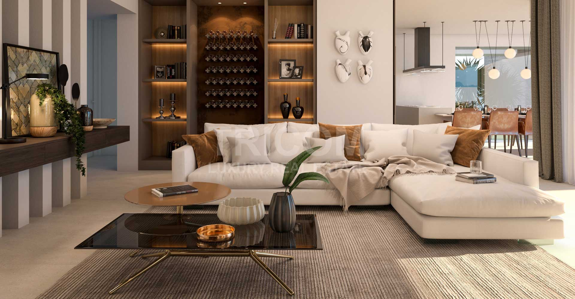 Kings hills living room